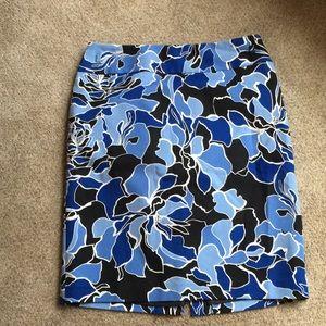 Liz Claiborne Floral Skirt size 10